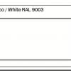 White RAL 9003